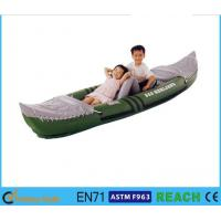 Buy cheap 58'' X 33'' Inflatable Float Boat 3 Person Fish Tube With High Output Air Pump from wholesalers