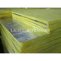 Buy cheap Glass Wool Blanket Refractory Insulation Materials / Fiberglass Wool Roll Thermal Roof Building Materials from wholesalers