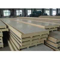 Buy cheap Polyurethane Structural Insulated Sandwich Panels For Freezer Cold Storage Room from wholesalers