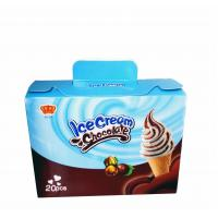 Buy cheap Fancy and Crisp Chocolate Candy Crisp Ice Cream Shaped Chocolate Dessert Cups from wholesalers