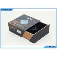 Buy cheap Grey Board Hard Gift Boxes Storage Double Drawer Design ISO9001 Certification from wholesalers