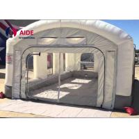 Buy cheap Mobile Inflatable Spray Booth For Car , Portable Paint Booth Pvc Tarpaulin from wholesalers