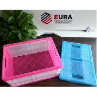 Buy cheap EURA High Quality  Plastic Folding Box/ Foldable Plastic storage box/ Collapsible box from wholesalers