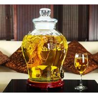 Buy cheap 25L Beer Glass Storage Jars With Faucet Lid Large Size For Waxberry Wine from wholesalers