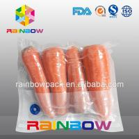 Buy cheap Clear Nylon Food Vacuum Seal Bags For Fresh Food Packaging With Texture from wholesalers