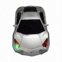 Buy cheap Micro Speakers/Portable Speakers in Car Shape, Suitable for Mobile Phone/MP3/MP4/MP5/PC/Laptop from wholesalers