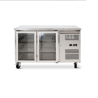 Buy cheap Stainless Steel Fan Cooling 2 Door Undercounter Chiller from wholesalers