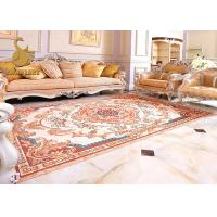Buy cheap Heated Transfer Printed Grey Carpet Underlay Felt / Living Room Area Rugs With Custom Pattern product