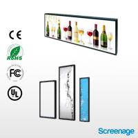 Buy cheap Restaurant indoor media advertising , Professional wall mounted screens from wholesalers