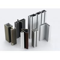 Buy cheap Modular T Slotted Aluminum Extrusion Profiles / Aluminum Door And Window Frames from wholesalers