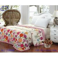 Buy cheap 100% cotton printed quilt bedding sets from wholesalers