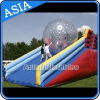 Buy cheap Inflatable Human Hamster Glass Roller Zorb Ball For Ramp Zorbing from wholesalers