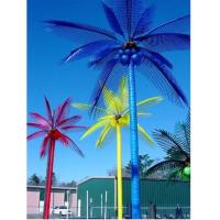 Buy cheap 2016 Promotion China made Led artificial coconut tree, outdoor led palm tree light for dec from wholesalers