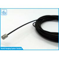 Buy cheap Custom Wire Rope Assembly Black Coating Aircraft Cable Assemblies With Terminals from wholesalers