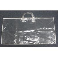 Buy cheap Clear PE pillow bag bedding packaging with handles from wholesalers