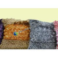 Buy cheap Fashion Flower Winter Snow Chenille Microfiber Cushion for Reading Book , Office from wholesalers