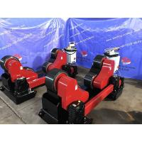 Buy cheap Automatic Heavy Duty Tank Pipe Welding Rollers, Self Adjustment 45000lbs Capacity PU Wheel from wholesalers