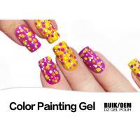 Buy cheap DIY Colorful Gel Nail Paint Polish At Home Non Toxic Acrylic Nail Polish product