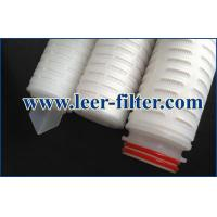 Buy cheap Leer Pleated Polypropylene Filter Cartridge from wholesalers