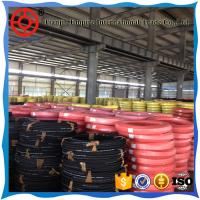Buy cheap Sand blast hose 2'' inch textile reinforced smooth surface rubber hose from wholesalers