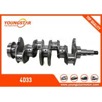 Buy cheap MITSUBISHI Canter 4D33 Diesel Engine Crankshaft 3.4D ME - 018297 ISO 9001 from wholesalers