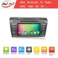Buy cheap 800*480 Resolution Auto Accessories For Mazda 3 2007-2009 Bluetooth OBD DVR Mirror Link from wholesalers