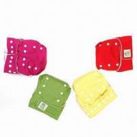 Buy cheap Baby's Cloth Diaper with Snap Closure, Easy to Clean from wholesalers