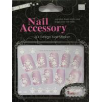 Buy cheap Eco - friendly material Removable rhinestone nail stickers acrylic nail art designs product