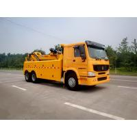 Buy cheap Wrecker Tow Truck , 3 Winches Road Wrecker For Accidents And Parking Violations from wholesalers