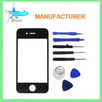 Buy cheap for iPhone 4 Front Replacement Part Lcd Glass Tools Kit Screen Repair Black from wholesalers