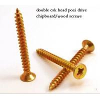 Buy cheap Coarse Or Fine Thread Chipboard Flooring Screws , Self Tapping Sheet Metal Screws from wholesalers