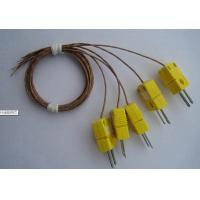 Buy cheap K Type Welding Thermocouple With Omega Miniature Connector Omega Thermocouple Connector from wholesalers