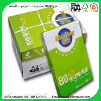 Buy cheap Good Quality A4 Size letter size paper 70g/80g Copier Paper with Cheap Price product