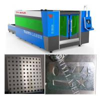 Buy cheap Galvanized Sheet Laser Cutting Machine-Unique Fumes Exhausting system to protect worker from wholesalers