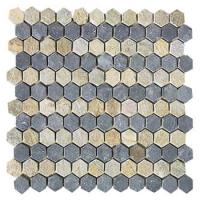 Buy cheap Mosaic stone as China Building Materials Wall Panel Tiles with Decoration for nature stone from wholesalers