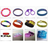 Buy cheap Beautiful Design Silicone Rubber Products Personalized Rubber Bracelets from wholesalers