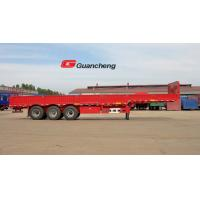 China 3 mm Checkered Plate Floor Cargo Semi Trailer With Common Mechanical Suspension on sale
