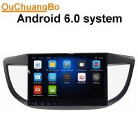 Buy cheap Ouchuangbo car multi media stereo android 6.0 for  Honda CRV 2012 with gps navi bluetiith Phone steering wheel control from wholesalers