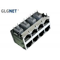 Buy cheap EMI Tabs Stacked RJ45 Connectors 2.5G Integrated Transformer For Ethernet Switches from wholesalers