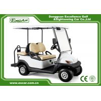 Buy cheap KDS Motor Used Electric Golf Carts 4 Seater 48V Trojan Batteries Powered from wholesalers