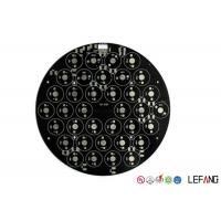 Buy cheap Black Solder HASL Surface Led Strip Pcb Board , Led Tube Light Pcb Board 0.5OZ  Thick product