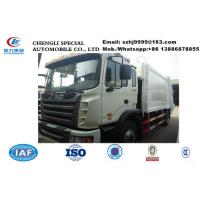 Buy cheap Factory customized JAC 4*2 LHD 10tons compression garbage truck for sale, HOT SALE! JAC 12m3 garbage compactor truck from wholesalers