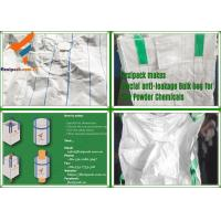 Buy cheap Green Color with Baffle PP Woven Type A Bulk Bag/ Jumbo Bag Used for Chemical/Alumina/ Dye from wholesalers