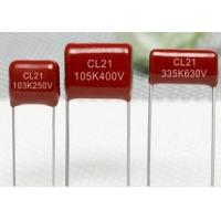 China CL21 Metallized Polyester Film Capacitor on sale