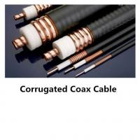 50 Ohms RF Feeder Cable  For Mobile , Coaxial Cable Components  Indoor / Outdoor