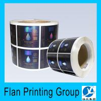 Buy cheap Custom aluminum foil label/sticker printing manufacturer from wholesalers