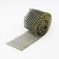 Buy cheap Wire Collated Screw Ring Smooth Wood Pallet Coil Nail from wholesalers