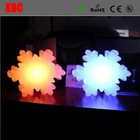 Buy cheap Factory Wholesales 16 Color Changing Indoor Snowflake Shape Table Decoration Led Wireless Night Light from wholesalers