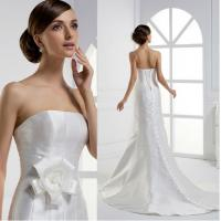 Buy cheap Strapless Floor Length Female Simple Elegant Wedding Dresses Can Be Personalized from wholesalers