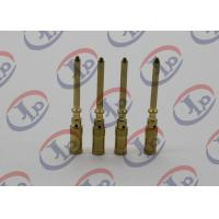 Buy cheap Small Metal Parts Copper Male Pins , Precision Machining Parts + - 0.1mm Tolerance product